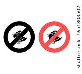 no christmas bird icon. simple...