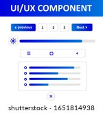 ui ux component is the blue...