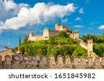 Castle Soave In Veneto  Italy