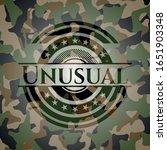Unusual Camouflage Emblem....
