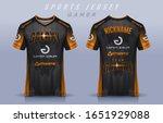 t shirt e sport design template ...   Shutterstock .eps vector #1651929088