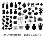 collection of hand drawn... | Shutterstock .eps vector #1651962148