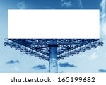 billboard with white space and... | Shutterstock . vector #165199682