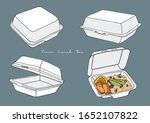 vector illustration of food...   Shutterstock .eps vector #1652107822