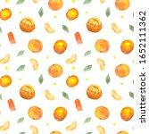 seamless pattern with... | Shutterstock . vector #1652111362