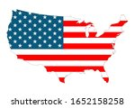 flag of the united states of... | Shutterstock .eps vector #1652158258