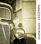 Detail Of Old Timer Car Detail...