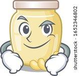 cool cashew butter mascot... | Shutterstock .eps vector #1652346802