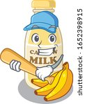 smiley funny cashew milk a... | Shutterstock .eps vector #1652398915