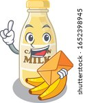 happy face cashew milk mascot... | Shutterstock .eps vector #1652398945