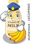 a manly cashew milk cartoon... | Shutterstock .eps vector #1652399005