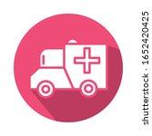 ambulance car vehicle block... | Shutterstock .eps vector #1652420425