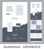 landing page design template...