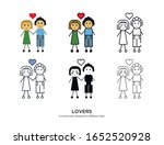 various type of lovers set with ...   Shutterstock .eps vector #1652520928