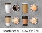 empty label white paper coffee...   Shutterstock .eps vector #1652544778