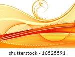 floral vector background | Shutterstock .eps vector #16525591