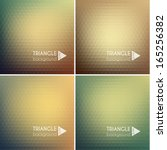 Abstract Triangle Backgrounds...