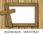 background made of wooden planks | Shutterstock . vector #165257822