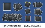 realistic photo frames pack.... | Shutterstock .eps vector #1652606368