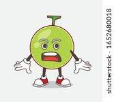 cantaloupe melon cartoon mascot ... | Shutterstock .eps vector #1652680018