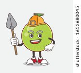 cantaloupe melon cartoon mascot ... | Shutterstock .eps vector #1652680045