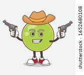 cantaloupe melon cartoon mascot ... | Shutterstock .eps vector #1652680108