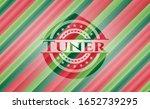 tuner christmas emblem. vector... | Shutterstock .eps vector #1652739295