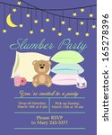 slumber party | Shutterstock .eps vector #165278396