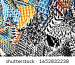 digital effects. multicolor... | Shutterstock . vector #1652832238