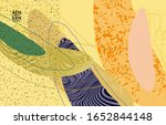 vector cover template with...   Shutterstock .eps vector #1652844148