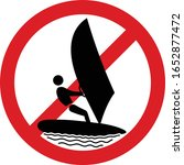 vector icon warning sign about... | Shutterstock .eps vector #1652877472