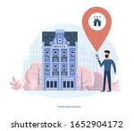 booking a hotel  home ...   Shutterstock .eps vector #1652904172