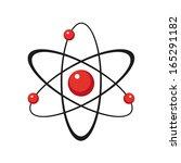 atom   Shutterstock .eps vector #165291182