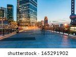 beautiful night view in shanghai | Shutterstock . vector #165291902
