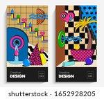 bright abstract art... | Shutterstock .eps vector #1652928205
