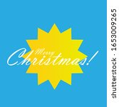 merry christmas  beautiful... | Shutterstock .eps vector #1653009265