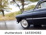 old car on the road | Shutterstock . vector #165304082