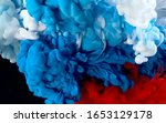 flag of russia made of colored... | Shutterstock . vector #1653129178