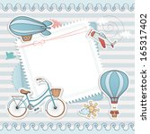 holiday card design.   Shutterstock .eps vector #165317402