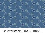 abstract seamless pattern with... | Shutterstock .eps vector #1653218092