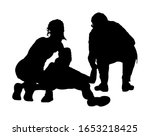 doctor rescue patient first aid ... | Shutterstock .eps vector #1653218425