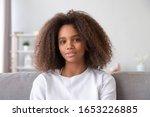 Pretty African Teen Girl...