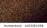 gold triangles luxury sparkling ... | Shutterstock .eps vector #1653281458