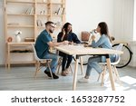 full length motivated young... | Shutterstock . vector #1653287752