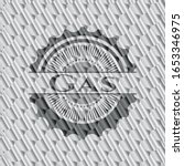 gas silver color badge or...   Shutterstock .eps vector #1653346975