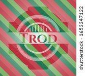 trod christmas style emblem.... | Shutterstock .eps vector #1653347122