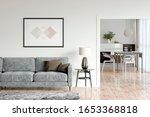 Bright Living Room Interior...