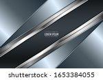 elegant metallic background... | Shutterstock .eps vector #1653384055