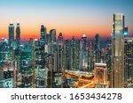 Dubai City Center Skyline ...