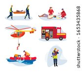 emergency rescue team  help... | Shutterstock .eps vector #1653435868